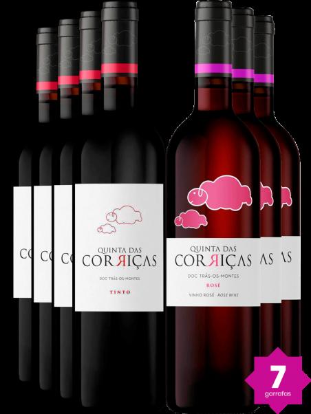 Kit Quinta Das Corriças Tinto & Rosé (6 un)