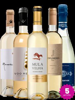 Kit de Vinhos Brancos (5 un)