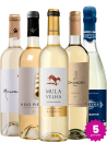 Kit de Vinhos Brancos (5 un.)
